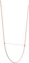 WireLine LED Pendant - / Glass tube L 130 cm &