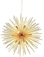 WISHVYQ E14 Modern Gold Light Fixture Creative