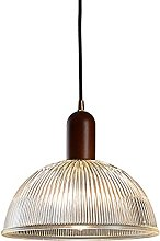WISHVYQ E27/E26 Modern Glass Pendant Light