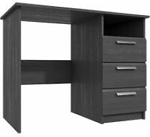 Wister Three Draw Dressing Table Graphite