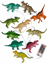 Wisvis 10 LED Dinosaur String Light for Kids,