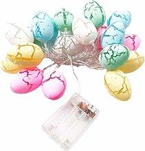 Wisvis 3 Meters 20 Lights Easter Eggs Led String