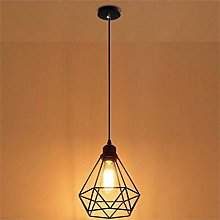 Wisvis Ceiling Light Shades-Vintage Cage Lamp