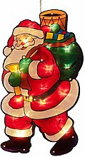 Wisvis Christmas led Lights Window Twinkly Suction