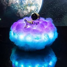 Wisvis LED Colorful Clouds Astronaut Lamp