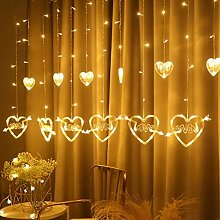 Wisvis Led String Lights, Multi Coloured Led Love