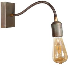 With flexible arm - wall lamp Orio made of brass