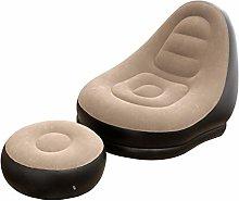 Withou PVC Inflatable Lazy Sofa, Bean Bag Lounge