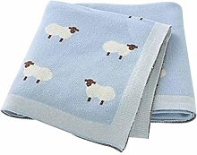 without Baby Blankets Knitted Newborn Swaddle