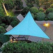 without Waterproof UV Sun Triangular Shade Sail