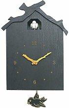 wivarra Birdhouse Modern Cuckoo Clock Natural Bird