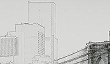 Wizzard & Genius 5018-4P-1 New York Art