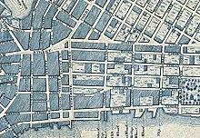 Wizzard & Genius 5019-4P-1 Old Vintage City Map