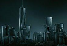Wizzard & Genius 5041-4P-1 Dark New York Skyline