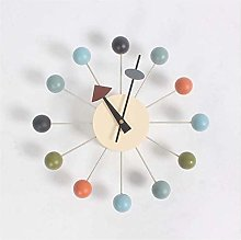 Wjchao Nelson clock multi-colored spherical wall