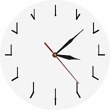 Wjchao Wall Clock 1Piece Simple Needle Modern