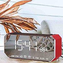 WJDNZ Digital Alarm Clock for Bedroom,Adjustable