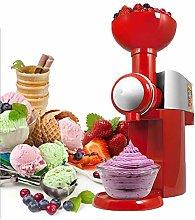 WJDOZ Home Fruit Soft Serve Ice Cream Maker, Make
