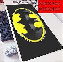 WJFQ Batman Mouse Mat Pad Superhero Desktop Pad