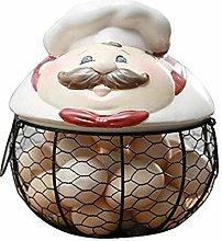 WJGJ Egg Storage Basket Kitchen Storage Holder