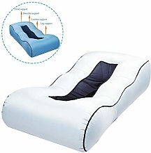 Wjie Inflatable Lounger Couch Air Lounger Lazy