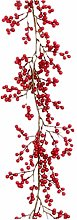 WJTMY Red Berry Garland Christmas Artificial Fruit