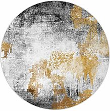 WJW-DT Area Rugs Round, Contemporary Living Dining