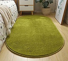 WJW-DT Grass Green Rug Oval Area Tradition Rugs
