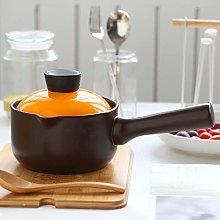 WJXBoos Ceramic Saucepan With Lid,ceramic