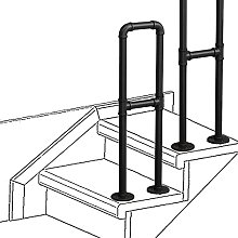 WL-ZZZ Banister Handrails for Indoor And Outdoor