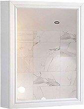 WLABCD Mirror 3 Space Bathroom Mirror Cabinet,
