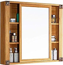 WLABCD Mirror Bathroom Mirror with Shelf American