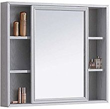 WLABCD Mirror Makeup Mirrors with Shelf, American