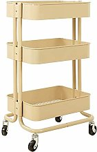 WLABCD Trolley Service Cart Tool Salon Mobile
