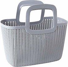 WLD Bread Bins Rattan-Like Portable Plastic Fresh