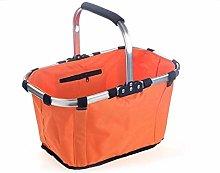 WLD Bread Bins Shopping Basket Outdoor Portable