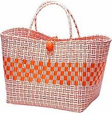 WLD Bread Bins Shopping Basket Rattan Large