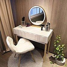 WLD Dressing Desk Vanity Table Set with Adjustable