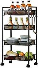 WLD Kekeyang Storage Kitchen Storage Rack Floor