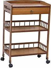 WLD Kitchen Serving Trolley Cart Bar Bedroom