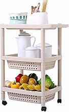 WLD Kitchen Serving Trolley Cart Family Bathroom