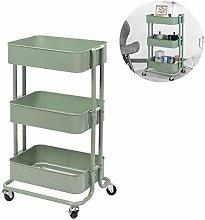 WLD Kitchen Storage Shelf,Storage Trolley Cart 3