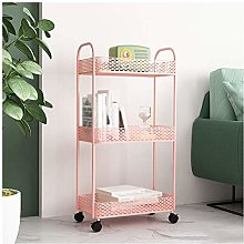 WLD Kitchen Storage Shelf,Storage Trolley Cart 3