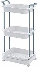 WLD Trolley Cart Serving,Plastic Kitchen Mobile