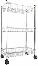 WLD Trolley Cart Serving,Stainless Steel Kitchen