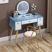 WLD Vanity Desk Dressing Table Set with Adjustable