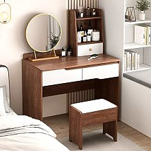 WLD Vanity Desk with 3 Drawers and 2 Layers of