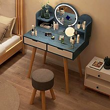 WLD Wood Makeup Desk Dressing Table Side Table
