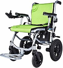 WLGQ Elderly Electric Wheelchair Lightweight