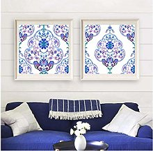WLKQY Indian Canvas Wall Art Poster | Poster, Cool